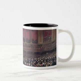 Louis Adolphe Thiers Two-Tone Coffee Mug