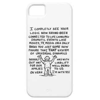 Louis and Universal Dynamics iPhone 5 Cover