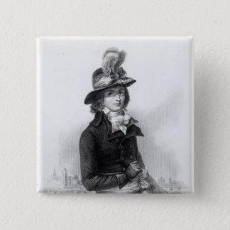 Louis Antoine de Saint-Just Button