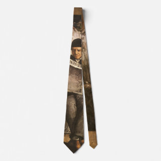 Louis Auguste Cezanne Father Of The Artist Reading Neck Tie