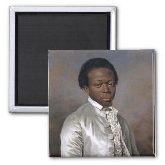 Louis Benoit Zamor 2 Inch Square Magnet