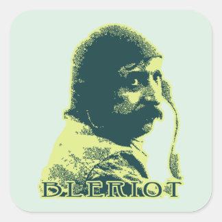 Louis Bleriot - color Square Sticker
