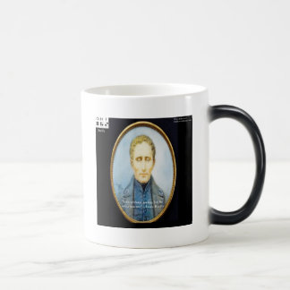 Louis Braille Famous Quote Magic Mug