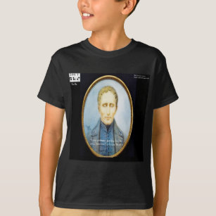 faebf01d5 Louis Braille T-Shirts - T-Shirt Design & Printing | Zazzle