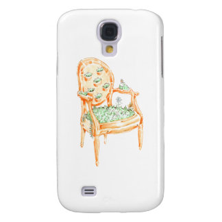 Louis Chair - Material Change - Clay pot Samsung S4 Case