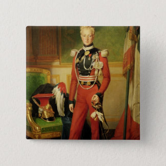 Louis-Charles-Philippe of Orleans Duke of Pinback Button