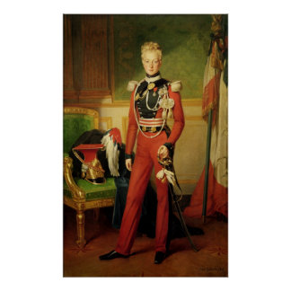 Louis-Charles-Philippe of Orleans Duke of Poster