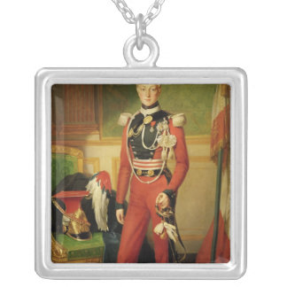 Louis-Charles-Philippe of Orleans Duke of Silver Plated Necklace