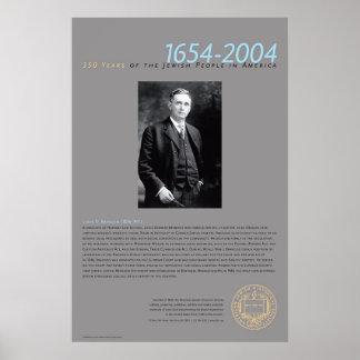 Louis D. Brandeis (1856-1941 Póster
