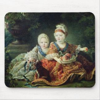 Louis de France  duc de Berry and Louis de Mouse Pad