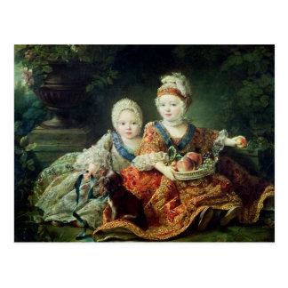 Louis de France  duc de Berry and Louis de Postcard