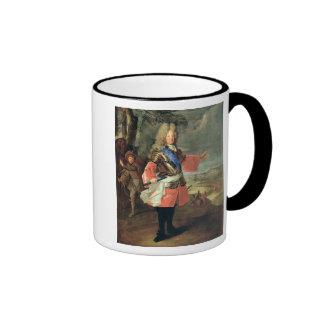 Louis de Francia Le Grand Dauphin, 1697 Taza A Dos Colores
