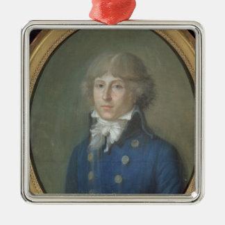 Louis de Saint-Just Metal Ornament