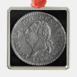 Louis d'or depicting Louis XVI, 1792 Ornament