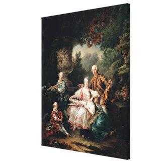 Louis du Bouchet  Marquis de Sourches Canvas Print