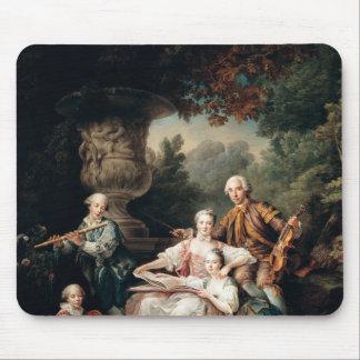 Louis du Bouchet  Marquis de Sourches Mouse Pad