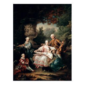Louis du Bouchet  Marquis de Sourches Postcard