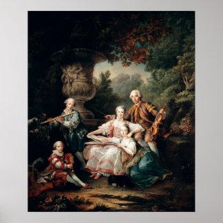 Louis du Bouchet Marquis de Sourches Póster