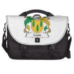 Louis Family Crest Laptop Messenger Bag