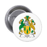Louis Family Crest Pin