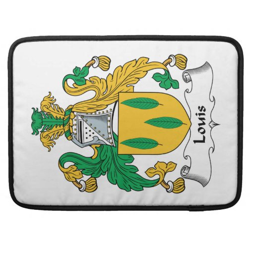 Louis Family Crest Sleeve For MacBook Pro
