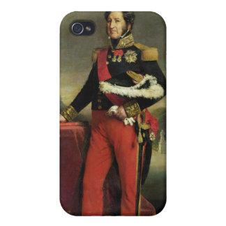 Louis-Felipe I, rey de Francia iPhone 4 Carcasa