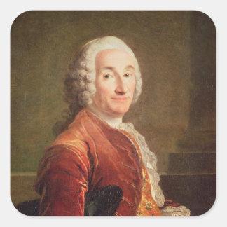 Louis Francois Armand de Vignerot du Plessis Square Sticker