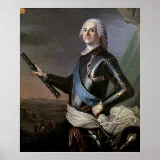 Louis Francois Armand Vignerot du Plessis Print
