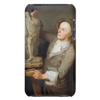Louis-Francois Roubiliac (1695-1762) Modelling his iPod Touch Case-Mate Case