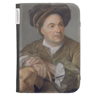 Louis Francois Roubiliac (1702-62) (pastel on pape Kindle Case