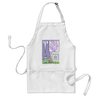 louis gates james crowley adult apron