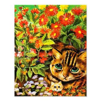 """Louis Guillermo Wain """"gato de la madre, gatito en Cojinete"""
