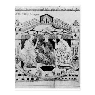 Louis I  the Pious Postcard