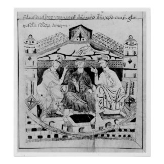 Louis I  the Pious Poster