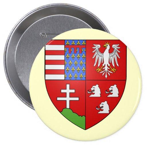 Louis Ier de Hongrie , Hungary Buttons