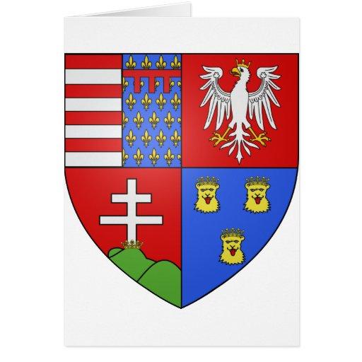 Louis Ier de Hongrie, Hungary Card
