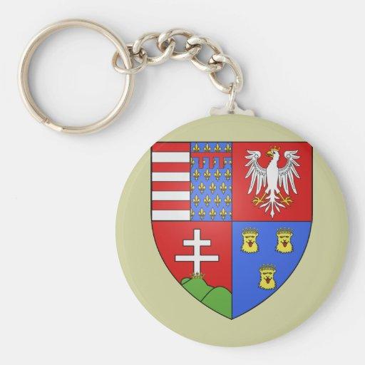 Louis Ier de Hongrie, Hungary Key Chains