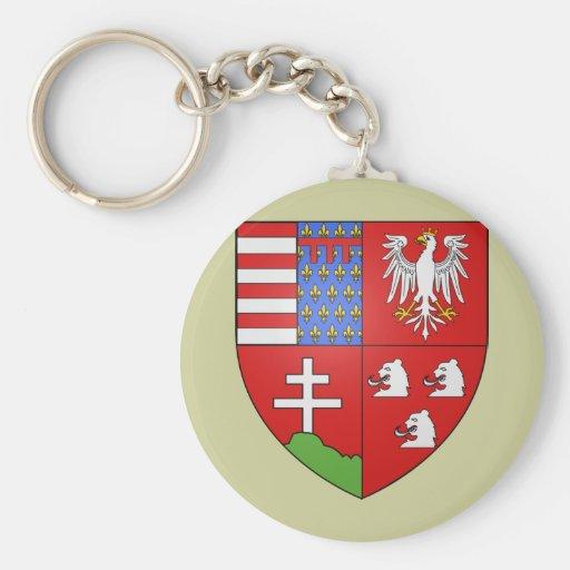 Louis Ier de Hongrie , Hungary Keychain