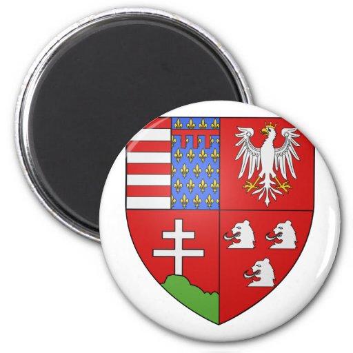 Louis Ier de Hongrie , Hungary Refrigerator Magnets