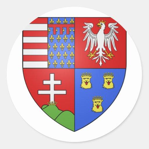 Louis Ier de Hongrie, Hungary Stickers