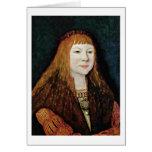 Louis Ii Of Hungary-Portrait By Bernhard Strigel Card