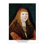 Louis Ii Of Hungary-Portrait By Bernhard Strigel Post Cards