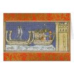 Louis IX medieval/tarjeta del renacimiento
