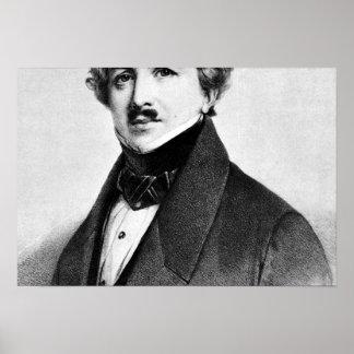 Louis Jacques Mande Daguerre Poster