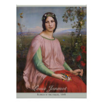 Louis Janmot Flower Of The Fields Cc0913 Large Poster Zazzle Com