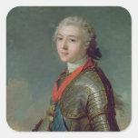 Louis Jean Marie de Borbón Pegatina Cuadrada