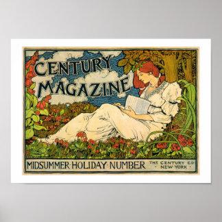 Louis John Rhead-Century Magazine Poster