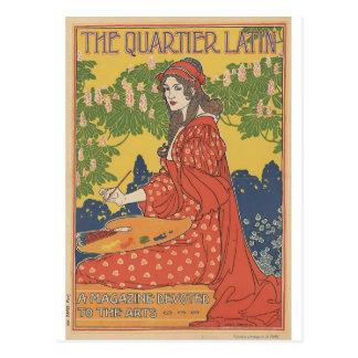 Louis John Rhead - The Quartier Latin Post Card