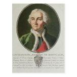 Louis-José de Montcalm 1790 Tarjeta Postal
