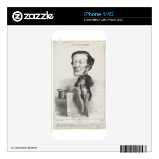 Louis-Joseph Buffet by Honore Daumier Decal For The iPhone 4